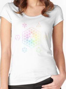 From the void full spectrum Women's Fitted Scoop T-Shirt