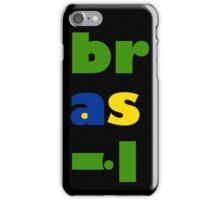 Brasil Fun Typography iPhone Case/Skin