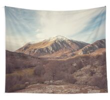 Mountains in the background XVII Wall Tapestry