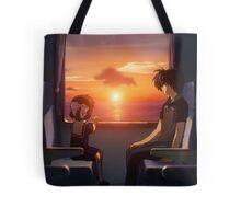 Ushio And Tomoya Clannad Tote Bag