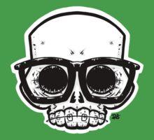 Nerd Skull Kids Tee