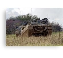 British Army Warrior Infantry Fighting Vehicle Canvas Print