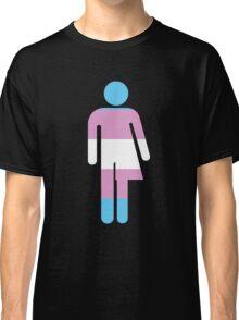 Trans Stick Pride Figure Classic T-Shirt