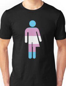 Trans Stick Pride Figure Unisex T-Shirt
