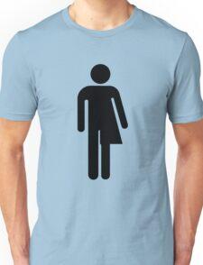 Trans Stick Figure Unisex T-Shirt