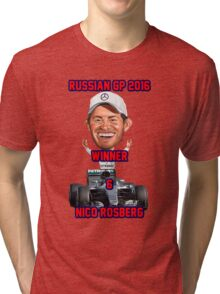 2016 Russia GP Winner Tri-blend T-Shirt