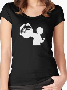 Ash Pokemon Ketchum Women's Fitted Scoop T-Shirt