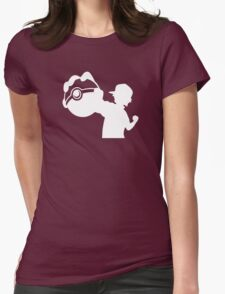 Ash Pokemon Ketchum Womens Fitted T-Shirt