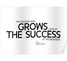 grows the success - horace Poster