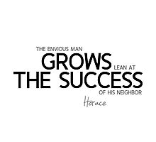 grows the success - horace Photographic Print
