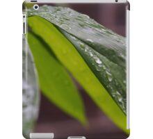 Dew on bamboo iPad Case/Skin