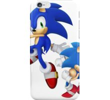 Sonic - Modern & Classic iPhone Case/Skin
