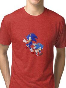 Sonic - Modern & Classic Tri-blend T-Shirt