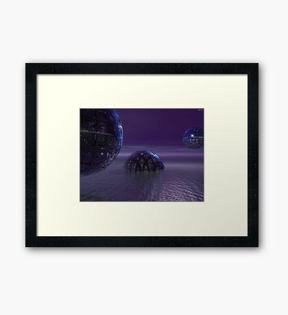 Mysterious Orbs Framed Print
