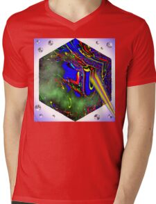 Bubble Zapper Mens V-Neck T-Shirt