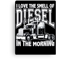 Truck driver Canvas Print