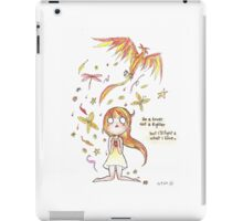 Lover not Fighter iPad Case/Skin
