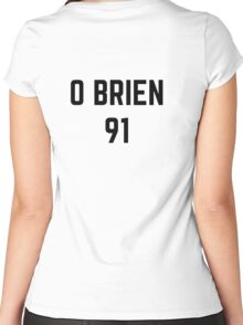 O'BRIEN 91 Women's Fitted Scoop T-Shirt