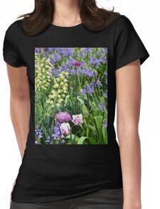 Pastel Garden Womens Fitted T-Shirt