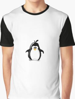 Linux Penguin Graphic T-Shirt