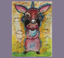 Deer - Endangered Series by Beatrice Ajayi  Kids Tee