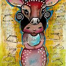 Deer - Endangered Series by Beatrice Ajayi  by Beatrice  Ajayi