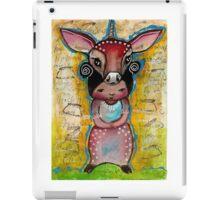 Deer - Endangered Series by Beatrice Ajayi  iPad Case/Skin