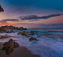 Mt Maunganui Beach by Cornelia Schulz