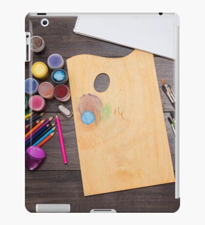 colored pencils paint brush  iPad Case/Skin