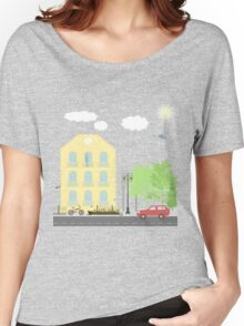 Urban scene Women's Relaxed Fit T-Shirt