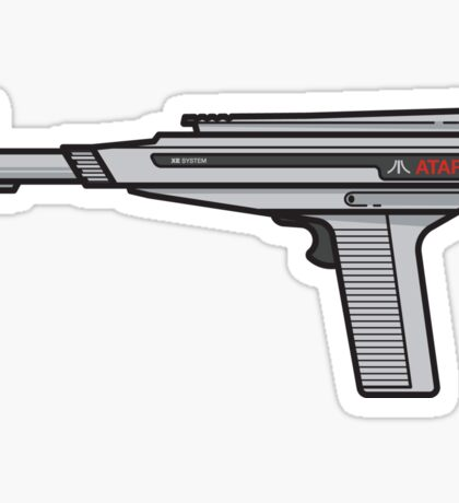 Atari XE Zapper Sticker
