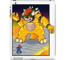 Bowser and Mario iPad Case/Skin