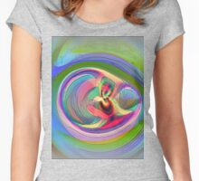 Abstract  #14 Women's Fitted Scoop T-Shirt