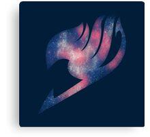 Fairy Tail galaxy logo Canvas Print
