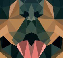 Rottweiler Geo Sticker