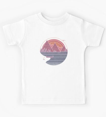 The Mountains Are Calling Kids Tee