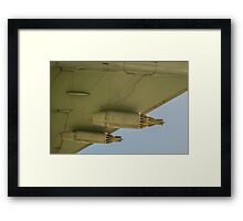 Jet Aircraft Undercarriage Framed Print