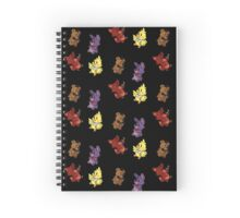 FNAF Plushies Spiral Notebook
