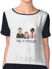 It Crowd Chiffon Top