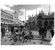 Piazza San Marco Poster