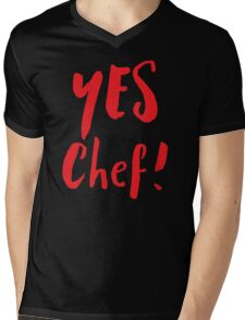 YES CHEF! Mens V-Neck T-Shirt