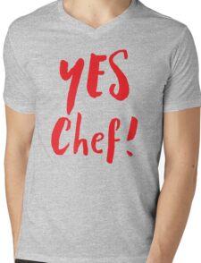 YES CHEF! Mens V-Neck T-Shirt