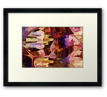 Donuts Abstract 23 Framed Print