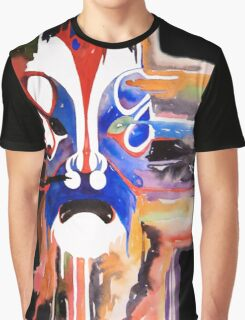 The Mask- Black Graphic T-Shirt