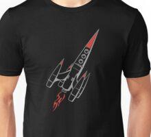 Rocket Raumfahrer Astronaut Raumschiff_Spaceshuttle Spaceship Unisex T-Shirt
