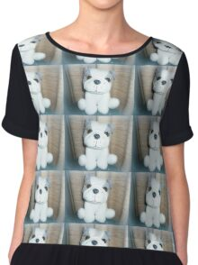 Pete the Pup - A gorgeous Gift Chiffon Top