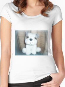 Pete the Pup - A gorgeous Gift Women's Fitted Scoop T-Shirt