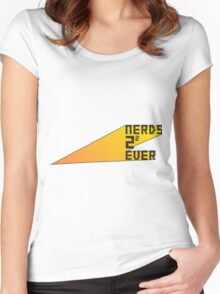 Nerds 4 Ever Women's Fitted Scoop T-Shirt