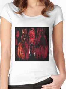 Masters Of All Horrors Women's Fitted Scoop T-Shirt