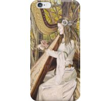 Harpist of the Valley iPhone Case/Skin